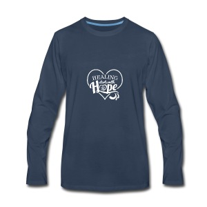 Healing with Hope - Men's Premium Long Sleeve T-Shirt