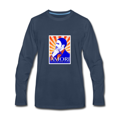 Amori_poster_1d - Men's Premium Long Sleeve T-Shirt