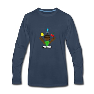 Pretzly Design - Men's Premium Long Sleeve T-Shirt