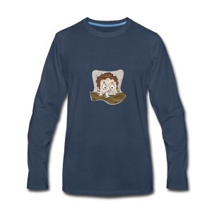 SleepyMug - Men's Premium Long Sleeve T-Shirt