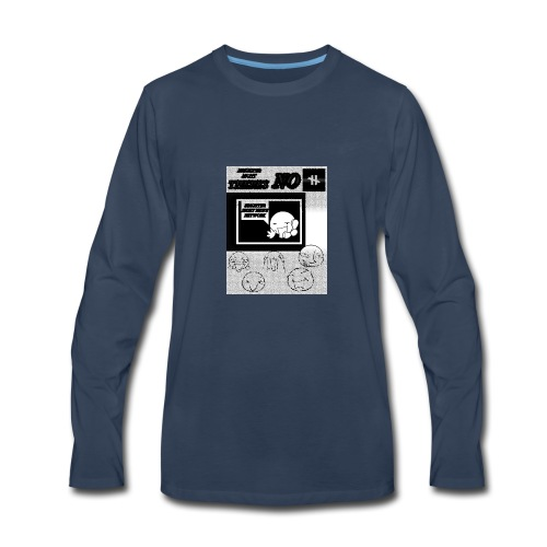 BRIGHTER SIGHT NEWS NETWORK - Men's Premium Long Sleeve T-Shirt