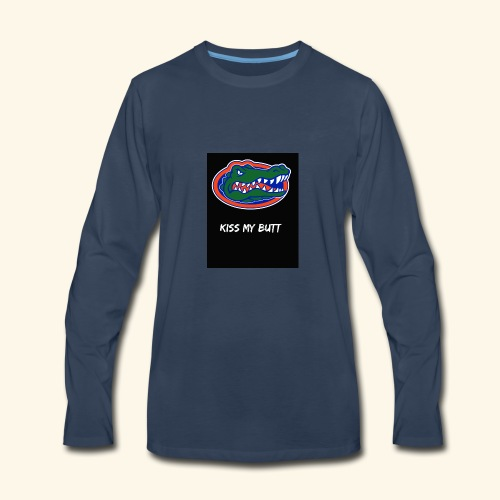Gators kiss my butt - Men's Premium Long Sleeve T-Shirt