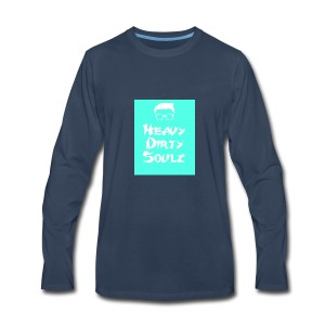 HeavyDirtySoulz Logo - Men's Premium Long Sleeve T-Shirt