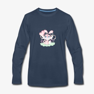 Cute lil bunny - Men's Premium Long Sleeve T-Shirt