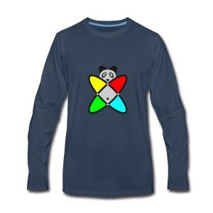 SCIENCE PANDA - Men's Premium Long Sleeve T-Shirt