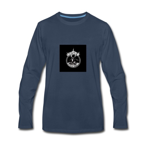 darkcharge button - Men's Premium Long Sleeve T-Shirt