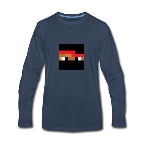 Neenja Face - Men's Premium Long Sleeve T-Shirt