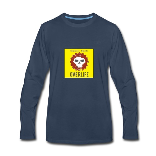 Stainless Spirits-Overlife Cup - Men's Premium Long Sleeve T-Shirt