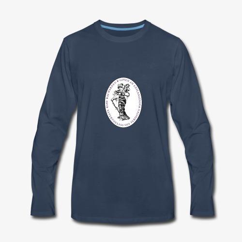She Persisted Suffragette Premium - Men's Premium Long Sleeve T-Shirt