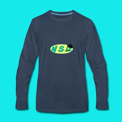 NotSoDapper logo - Men's Premium Long Sleeve T-Shirt