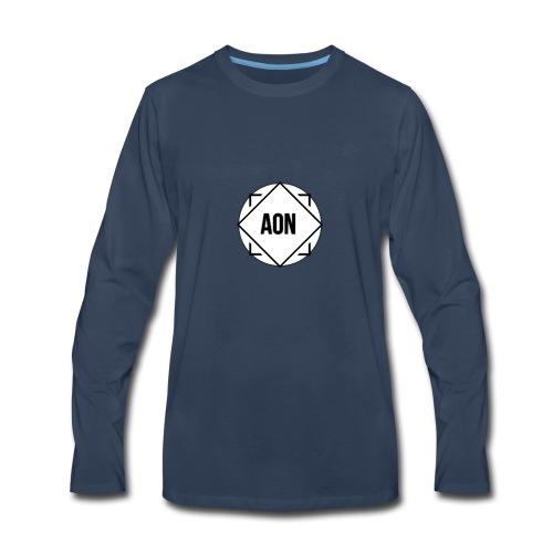 Alles of niks - Men's Premium Long Sleeve T-Shirt