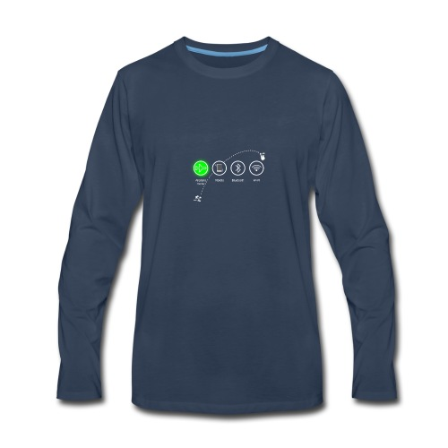 airplane_flight - Men's Premium Long Sleeve T-Shirt