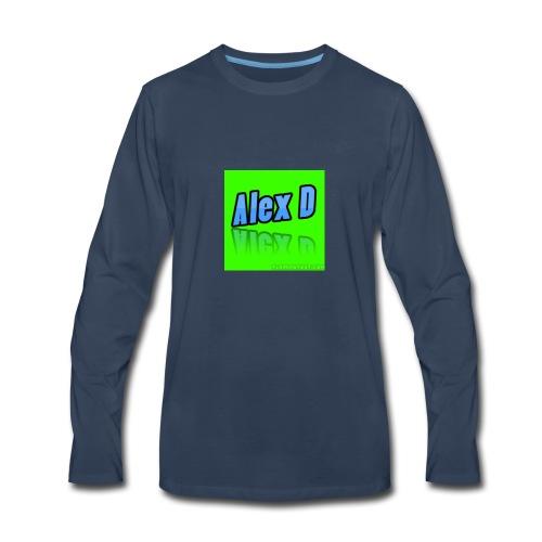 Alex D Doz Comedy Merchandise! - Men's Premium Long Sleeve T-Shirt