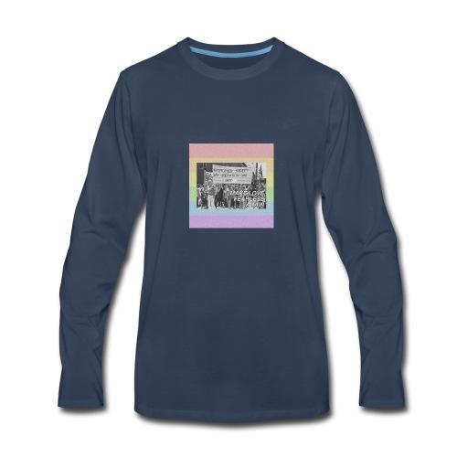 make love fearless again pins - Men's Premium Long Sleeve T-Shirt