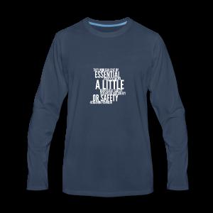 Benjamin Franklin - Men's Premium Long Sleeve T-Shirt