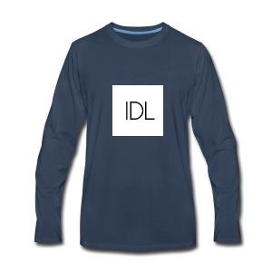 IDL Simple Logo - Men's Premium Long Sleeve T-Shirt