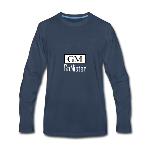 gamister_shirt_design_1_back - Men's Premium Long Sleeve T-Shirt