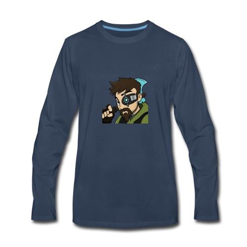 Iskall85 Avatar - Men's Premium Long Sleeve T-Shirt