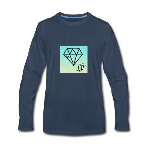 diamond life - Men's Premium Long Sleeve T-Shirt
