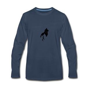 cats night - Men's Premium Long Sleeve T-Shirt