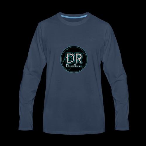 DruckRaum Logo - Men's Premium Long Sleeve T-Shirt