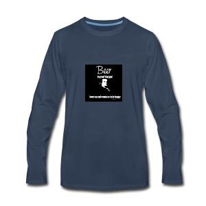 Beer T-shirt - Men's Premium Long Sleeve T-Shirt