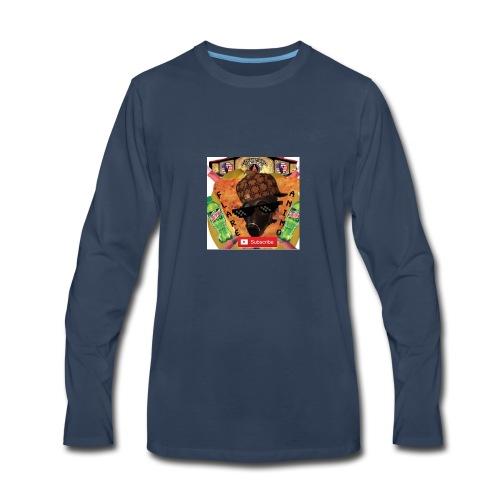 FlareAnimo | Official Logo - Men's Premium Long Sleeve T-Shirt