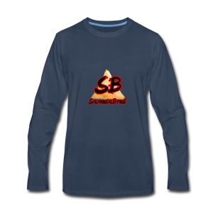 SamosaBros Logo - Men's Premium Long Sleeve T-Shirt