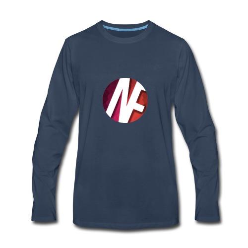 Nameless Films Logo - Men's Premium Long Sleeve T-Shirt