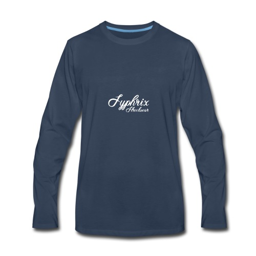 Syphrix Streetwear - Men's Premium Long Sleeve T-Shirt