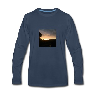 Country side sunset - Men's Premium Long Sleeve T-Shirt