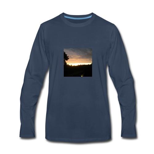 Country side sunset - Men's Premium Long Sleeve T-Shirt