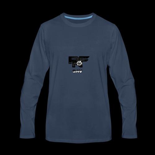 RnF Savs Custum Logo - Men's Premium Long Sleeve T-Shirt