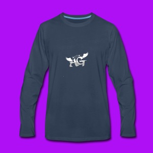 Almighty Gang Logo W/o Text - Men's Premium Long Sleeve T-Shirt
