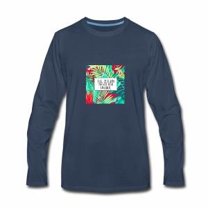 Process makes you unique - Men's Premium Long Sleeve T-Shirt