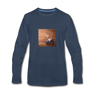 photography quote - Men's Premium Long Sleeve T-Shirt