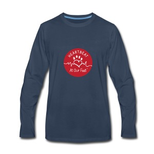 HAOF logo - Men's Premium Long Sleeve T-Shirt