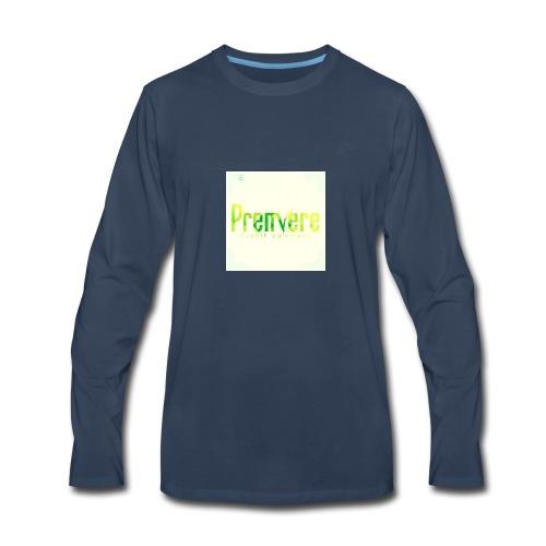4516 Premiere Credit Solutions Logo H 01 - Men's Premium Long Sleeve T-Shirt