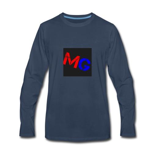 Mobile Gamer - Men's Premium Long Sleeve T-Shirt