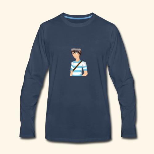 IDannyPlays FA #1 - Men's Premium Long Sleeve T-Shirt