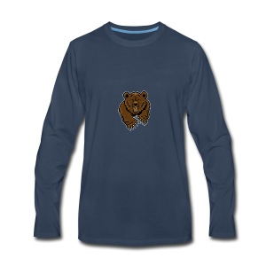 Grizzly Vlogs - Men's Premium Long Sleeve T-Shirt