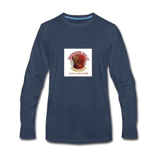 Lady in Red Bedroom Bully - Men's Premium Long Sleeve T-Shirt