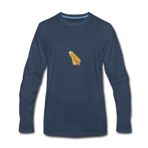 gold logo - Men's Premium Long Sleeve T-Shirt