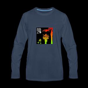 rbz south florida palm trees - Men's Premium Long Sleeve T-Shirt
