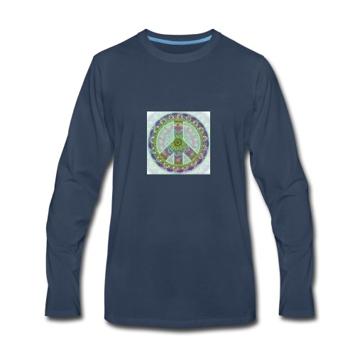 peace sign - Men's Premium Long Sleeve T-Shirt