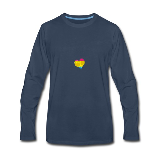 Speak Love Pan - Men's Premium Long Sleeve T-Shirt