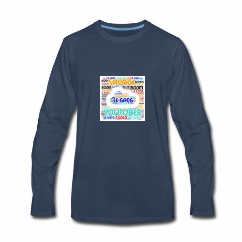 WORD MIX - Men's Premium Long Sleeve T-Shirt