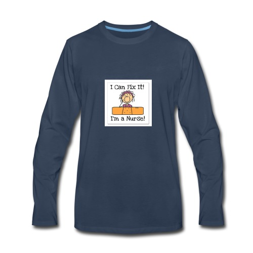 I can fix it nurse tee - Men's Premium Long Sleeve T-Shirt
