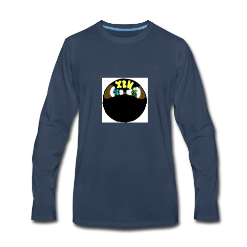 YOUNG RICH NINJA LOGO - Men's Premium Long Sleeve T-Shirt