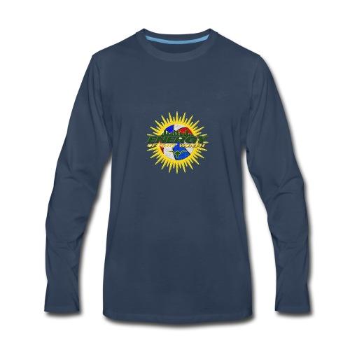 The Energy of Fort Worth Texas - Men's Premium Long Sleeve T-Shirt